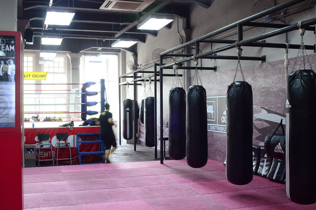 Small boxing gym anotherhackedlife